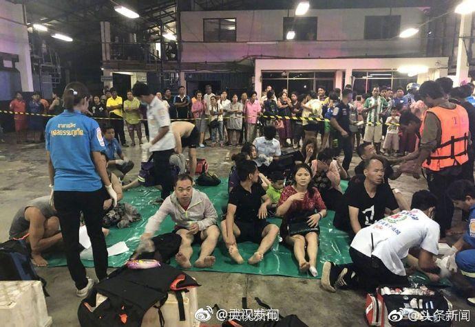 中国驻泰国大使馆确认,截至8日上午9时,中国公民有41人在泰国普吉岛翻船事故中遇难。截至目前,事故共造成42人死亡,仍有15人失踪。目前,艾莎公主号上42人已全部获救,事故中死亡和失踪人员均来自凤凰号。(新华社)