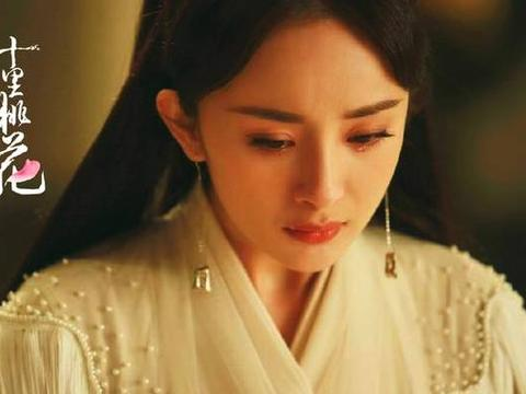 五位古装美人的哭戏,杨幂太仙郑爽惹人心疼,杨颖表情太尴尬