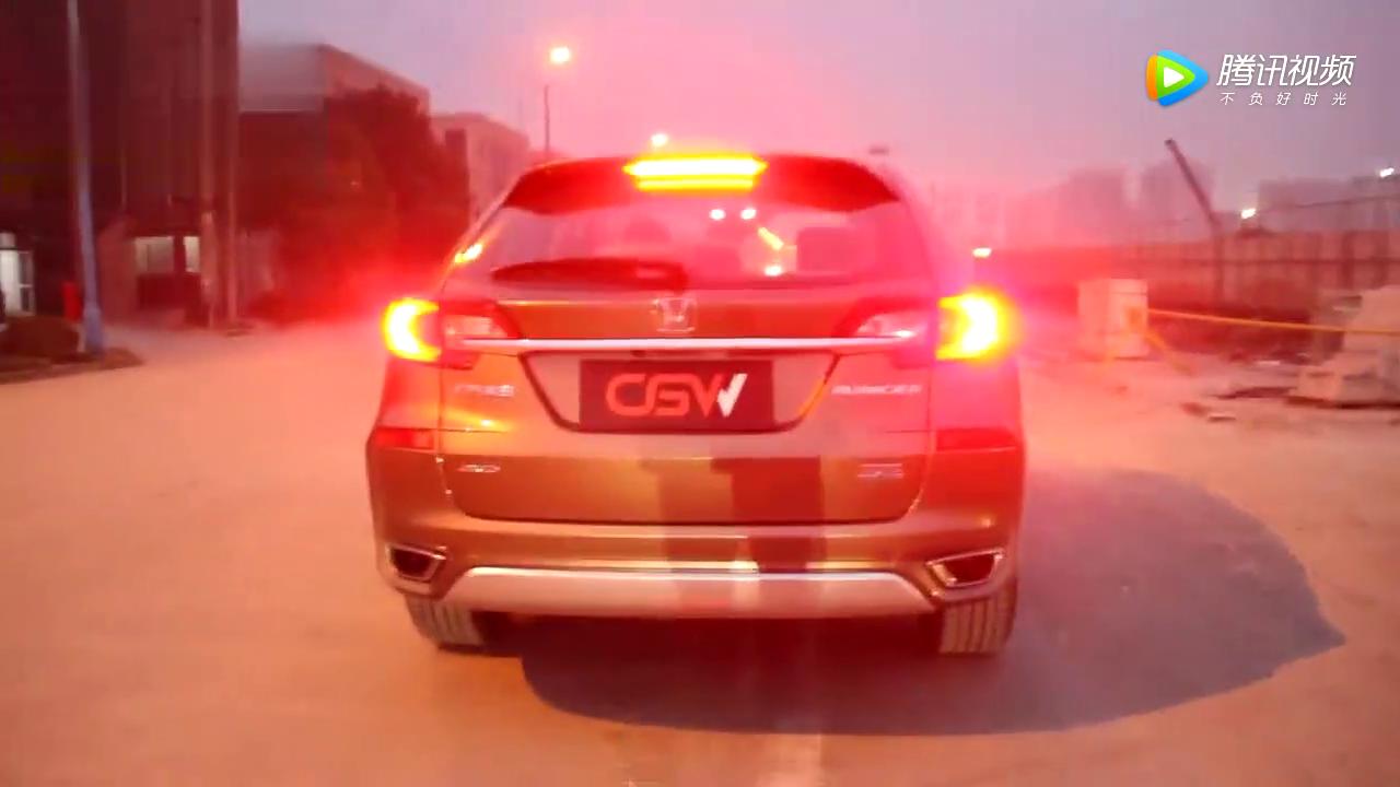 本田冠道改装CGW排气,声浪嘶吼堪比赛车!
