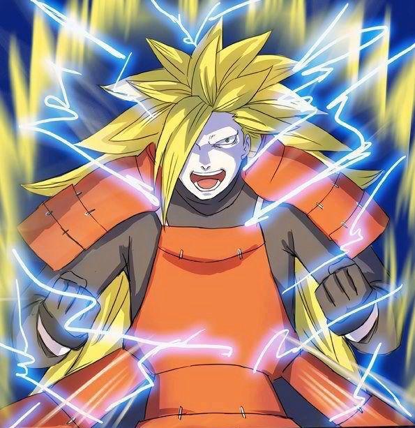 火影忍者:当主角变身赛亚人以后,鼬神太帅气,卡卡西一