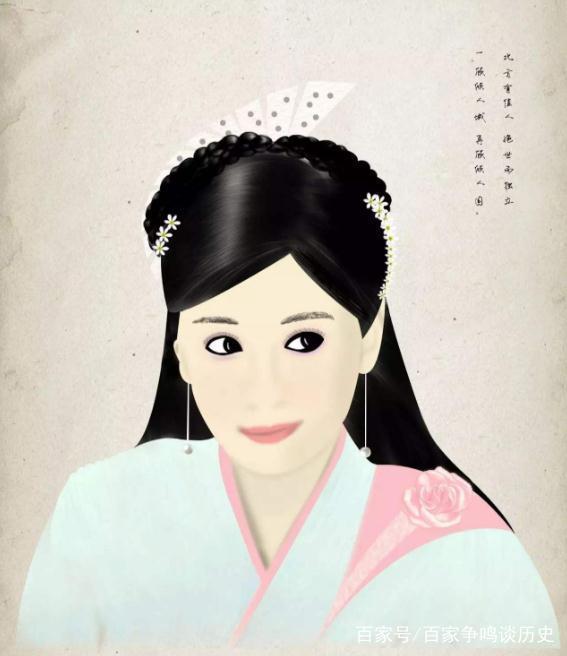 十个古装美人手绘图,除了赵丽颖和杨幂,我只认出了迪丽热巴