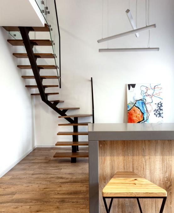 楼梯墙面涂鸦北欧