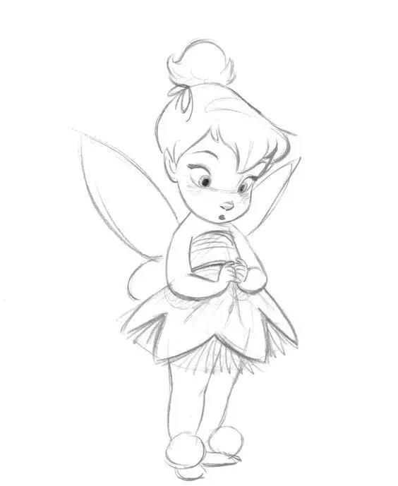 素材  迪士尼经典动漫人物线稿分享,需要请收藏