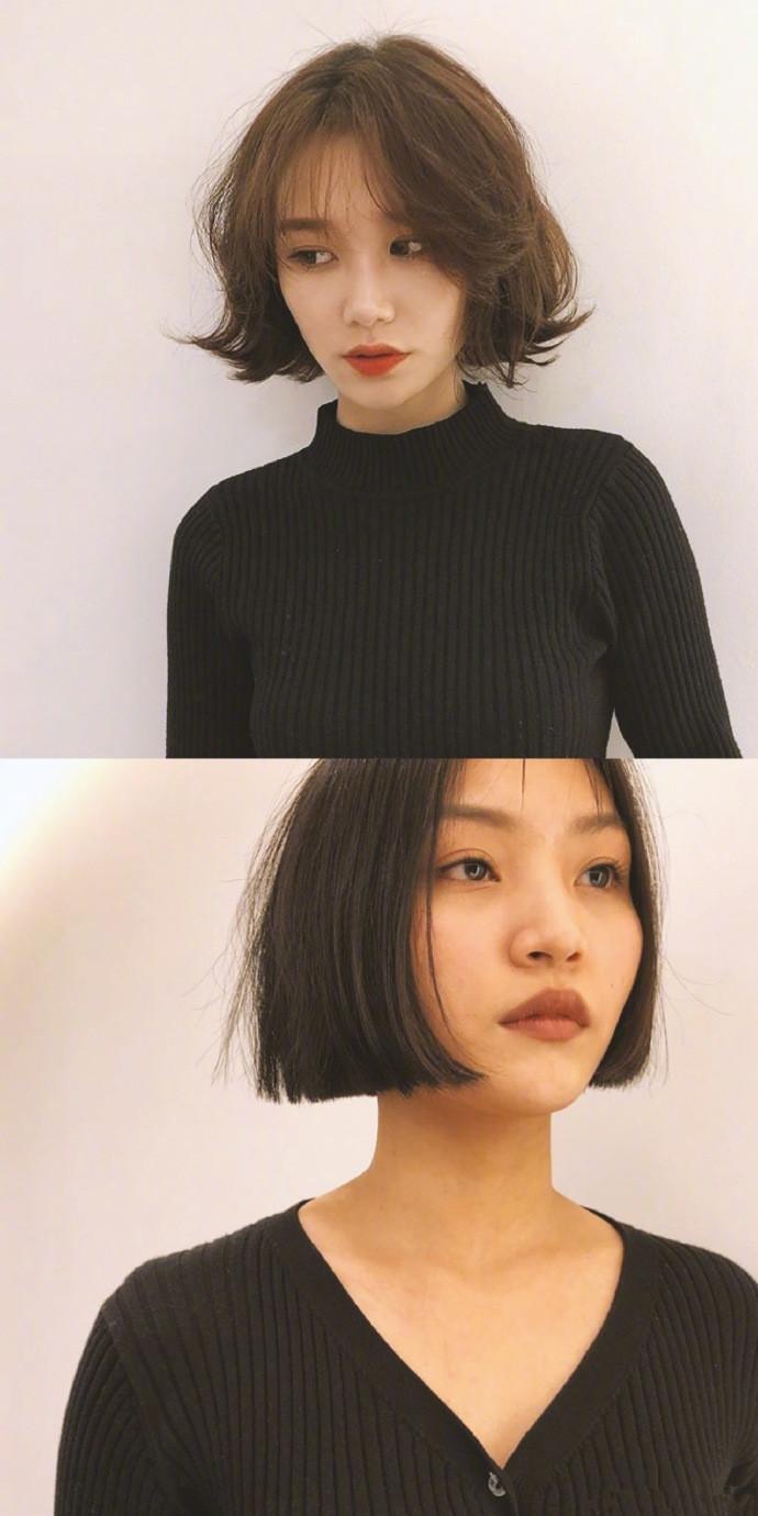 短发真的会上瘾,不管你是什么脸型总有一款适合你的短发图片