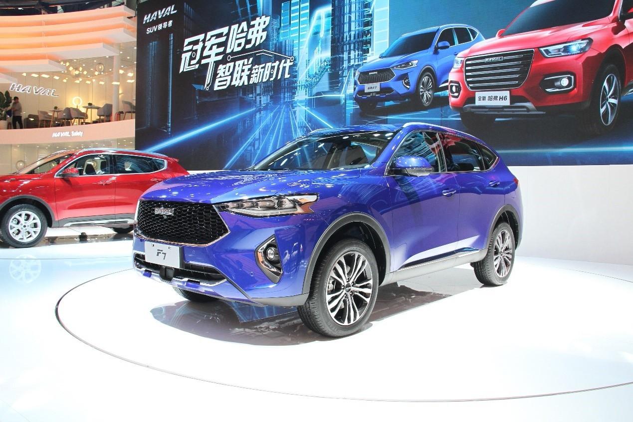 广州车展:自主销量王哈弗H6又出新款