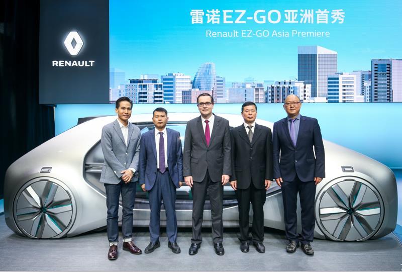 东风雷诺2022愿景:主导电动化、互联化和智能化