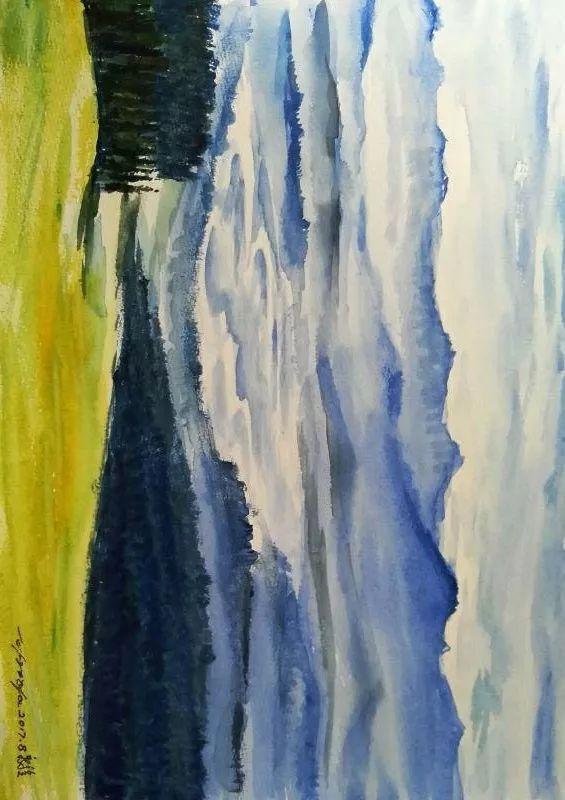 克拉玛依之恋——岳鲁旅行风景水彩画作品展
