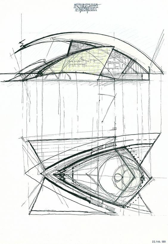 建筑手绘草图  特别声明:以上文章内容仅代表作者本人观点,不代表