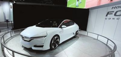 本田燃料电池新车:本田FCV