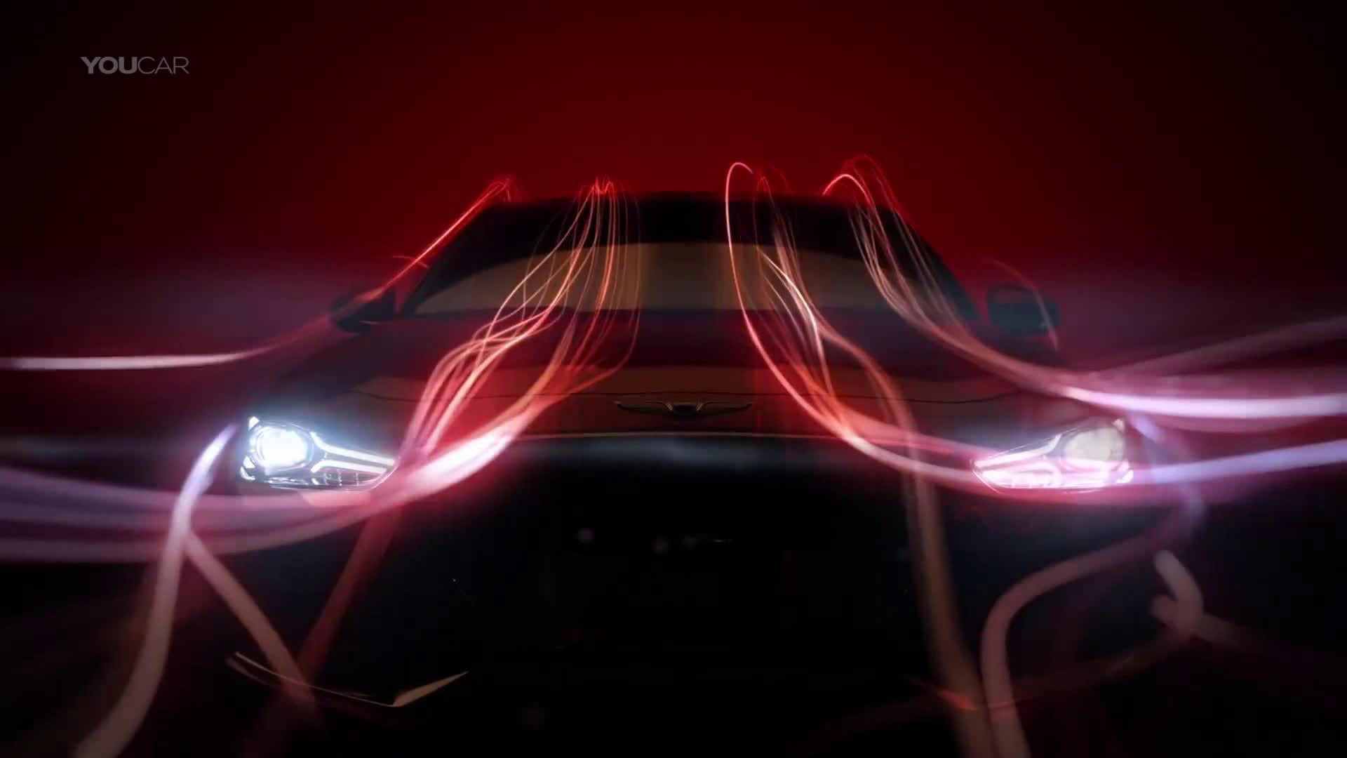 每日汽车趣闻  现代高端车型Genesis G70  wecar当讲不当...