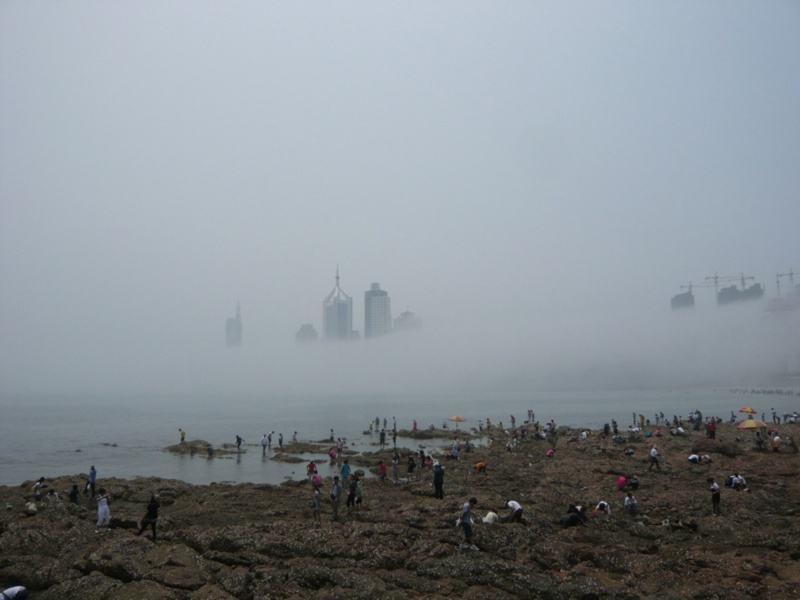 1988年蓬莱现神秘海市蜃楼,有人称见到古代人,难道是