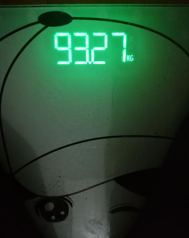 减肥第二十三天,难以控制的体重,该称欲望了减肥吗在水里泡图片