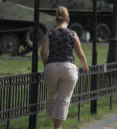 去俄罗斯旅游, 街头美女如云, 但不少男游客纷纷表示图片