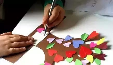 幼儿园手工制作简单小树