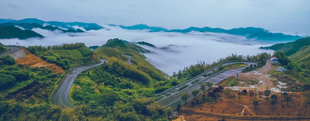 距杭州2h,上海3h,有条最美公路,醉美秋色宛如喀纳斯画廊!