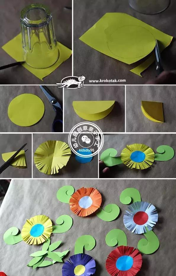 教会孩子做一朵鲜花之余,还能为幼儿园的教室增添春色,老师们快快收下