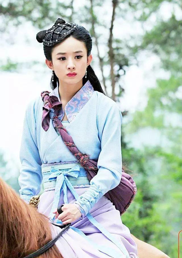 赵丽颖主演的这部古装剧没火很可惜,剧中每个造型都特别好看!