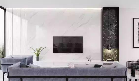 现代简约电视背景墙设计,越简单,越高级
