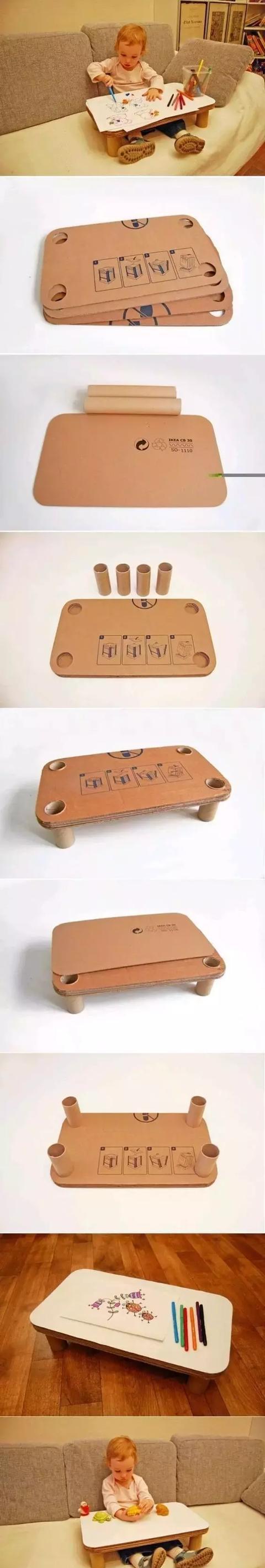 小纸壳大创意-丰富多彩的手工制作!