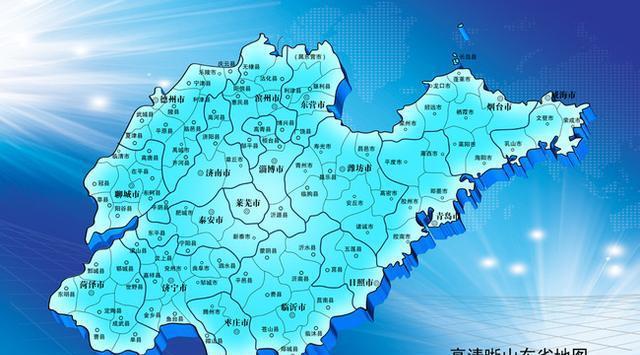 中国地�_山东省的一个四线城市, 入选\