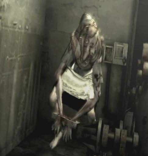 生化危机游戏中的女boss——丽莎特雷沃