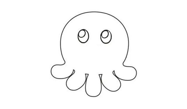 【绘画教程】章鱼篇~简笔画教程