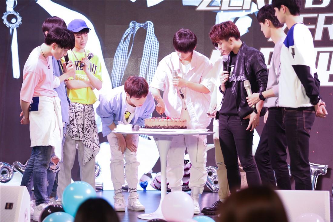 ZERO-G梦想男团举办成员生日会 粉丝应援助力公益