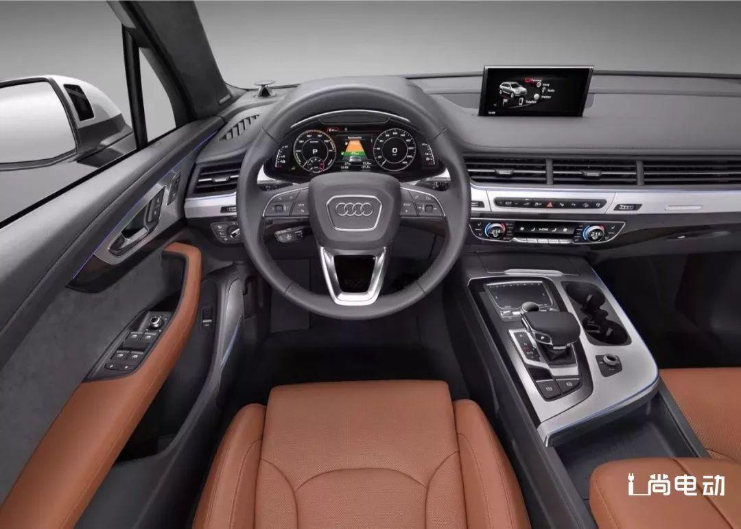 要塑造新能源豪华SUV新标准,就靠奥迪Q7 e-tron了