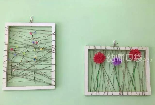 1根麻绳就能把幼儿园装饰成这样!你分分钟就能学会