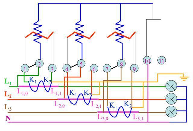 基本照明电路及模拟家用照明线路安装