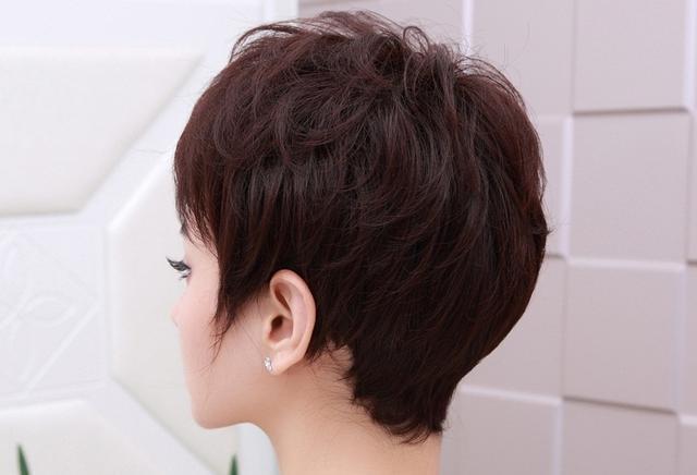 35岁女人短发减龄发型_38岁女人适合短发发型图片
