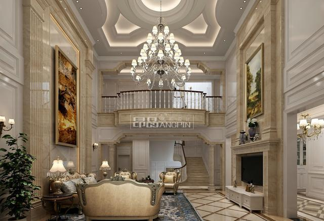优雅的古典美,现代的时尚感,看欧式风格如何诠释传世大宅设计!