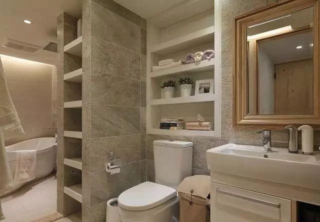 洗漱间与外隔断设计