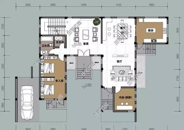 10套合院别墅, 第2中式合院第4现代两个实建案例哪个更美?图片