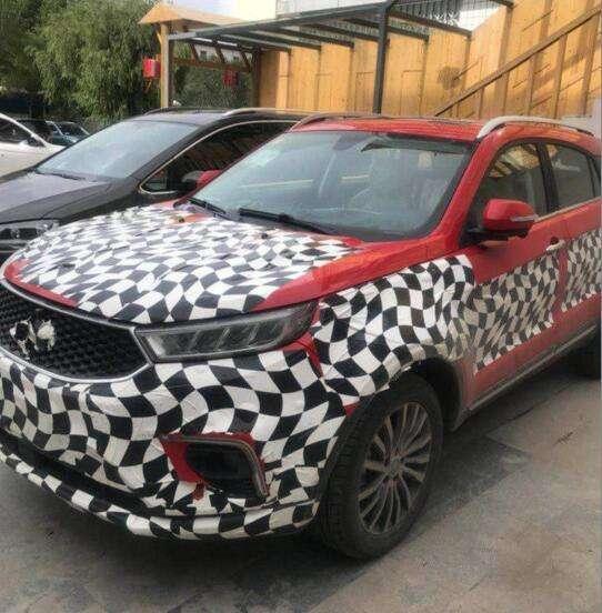 福特新款SUV实车首次曝光,售价或低于翼博,还是陆风X7亲兄弟