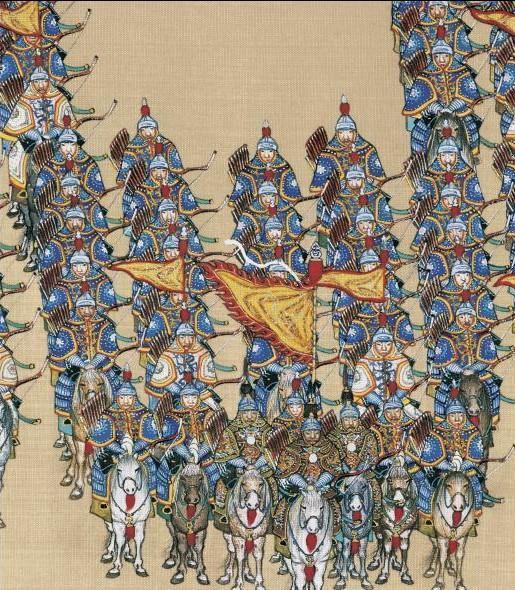 清初的八旗部队