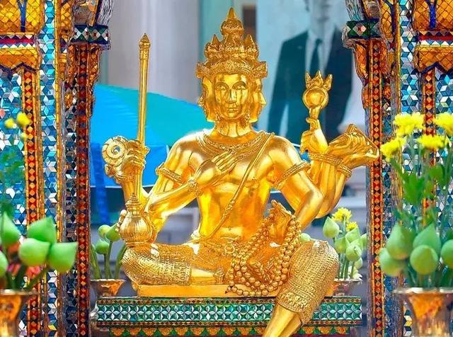 泰国四面佛纹身图案分享展示图片