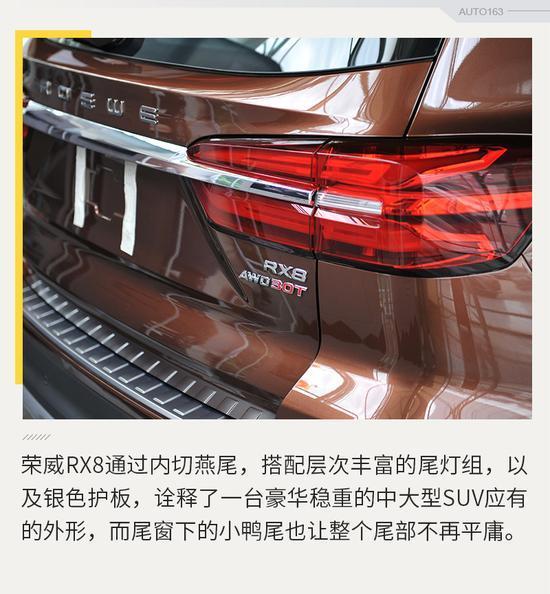 """开放预订先下手为""""荣"""" 荣威RX8到店实拍"""