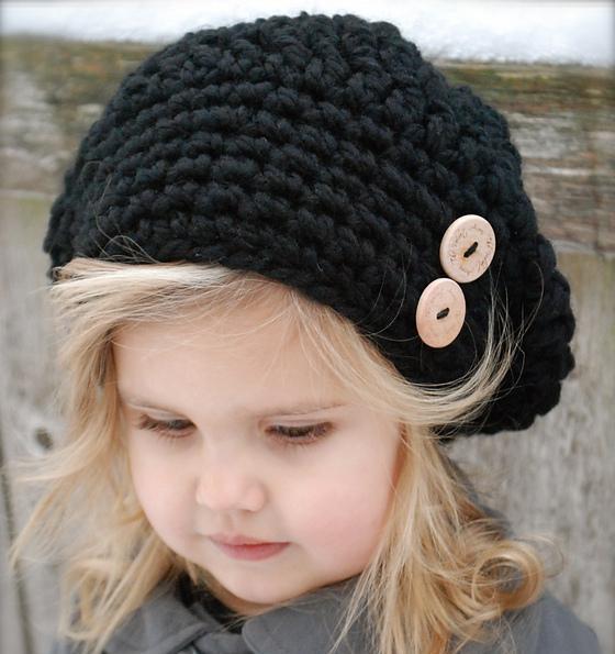 20款秋冬儿童毛线帽子 钩织让美丽与温暖同在