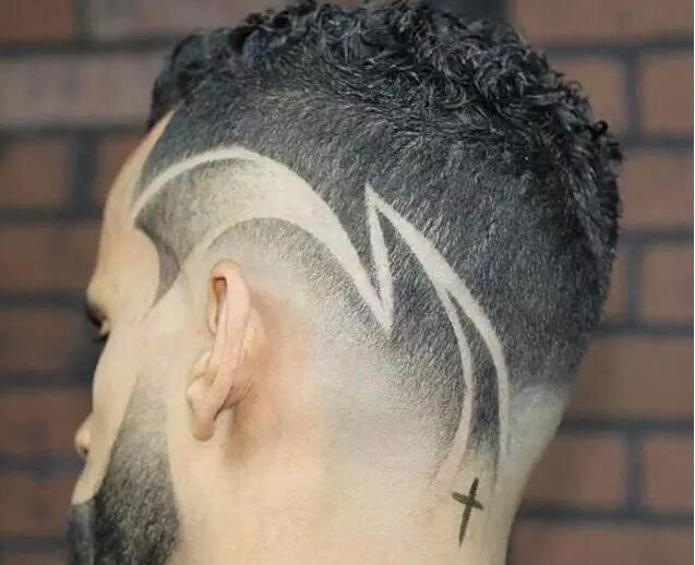 创意雕刻发型,让男士发型不再单调,魅力直线飙升!图片