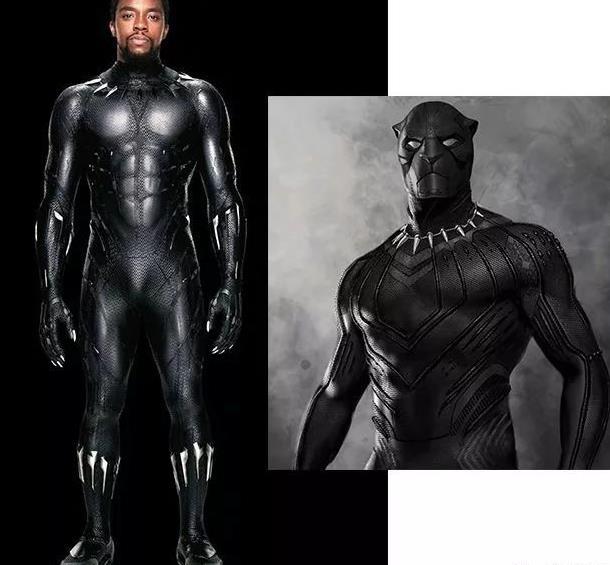 要说《黑豹》男主的战袍ruth竟然说设计灵感来自超人.图片