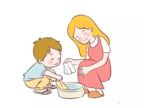 母亲节,老师让孩子给妈妈洗脚,有个拒不配合的妈妈就是我