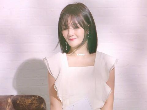 盘点女神的刘海搭配短发发型,谢娜的文静风却不是最美?图片