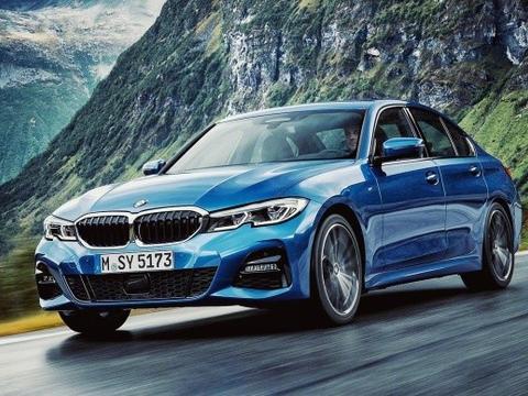 新宝马3系的蓝色依然那么运动,看的我也想买款蓝色的车