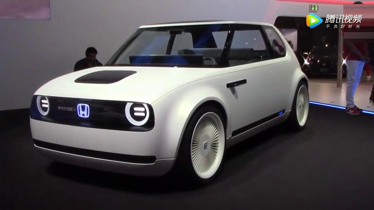 本田城市EV概念车:外观好萌,看到内饰有点蒙圈了
