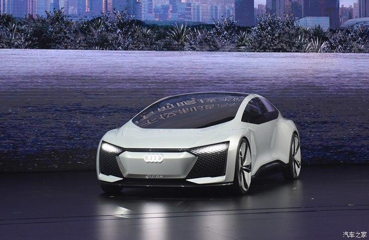 配自动驾驶 奥迪Aicon车型国内首发