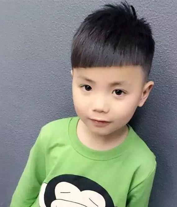 最适合中国小男孩的宝宝发型, 帅炸了