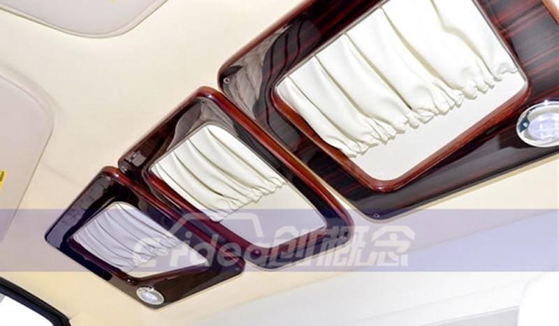 商务接待、居家旅行两用商务车,福特E350改装豪华内饰!