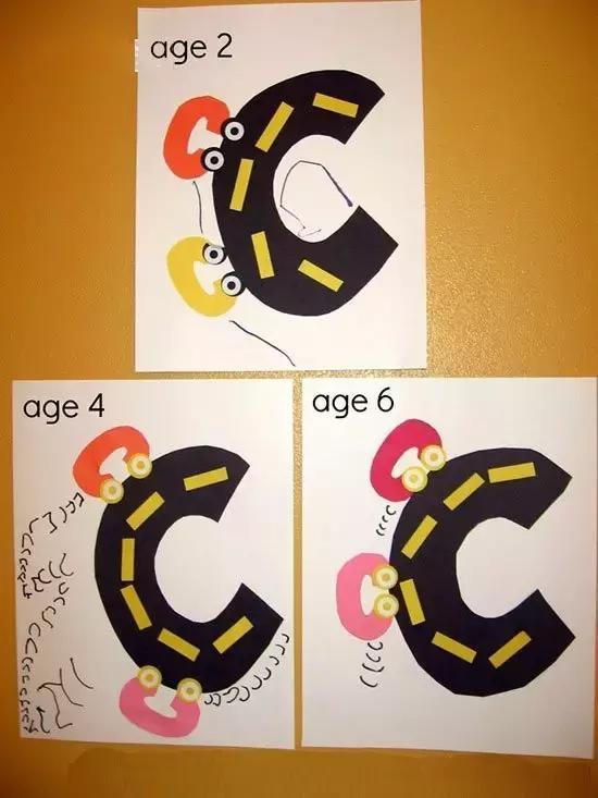 今天记忆大师要教大家一个好方法,可以让孩子学做手工,认字母,还有满满的亲子互动,让宝宝们在认识这些字母还能锻炼宝宝的动手能力。(^.^)一举三得!跟大家一起分享一下哈:字母A手工制作首先准备好下面这些材料:单独的字母A、两只眼睛、6个三角形