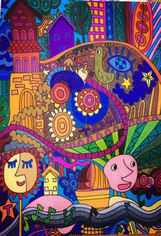 """非遗生活之""""来自星星的礼物""""——自闭症儿童画作创新产品"""
